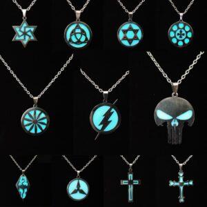 Glow in the Dark Mystic Rune Necklace