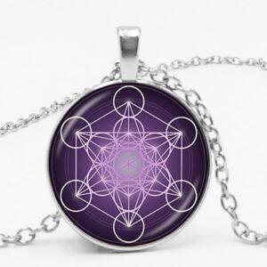 Divine Geometry Spirit Magic Chakra Pendant Necklace
